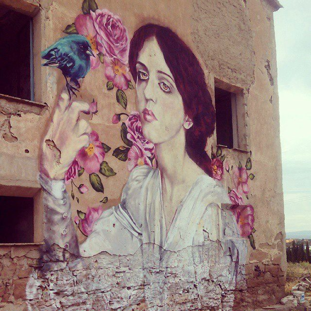 Street art in Mexico by artist Lily Brik. Photo by SAChilango