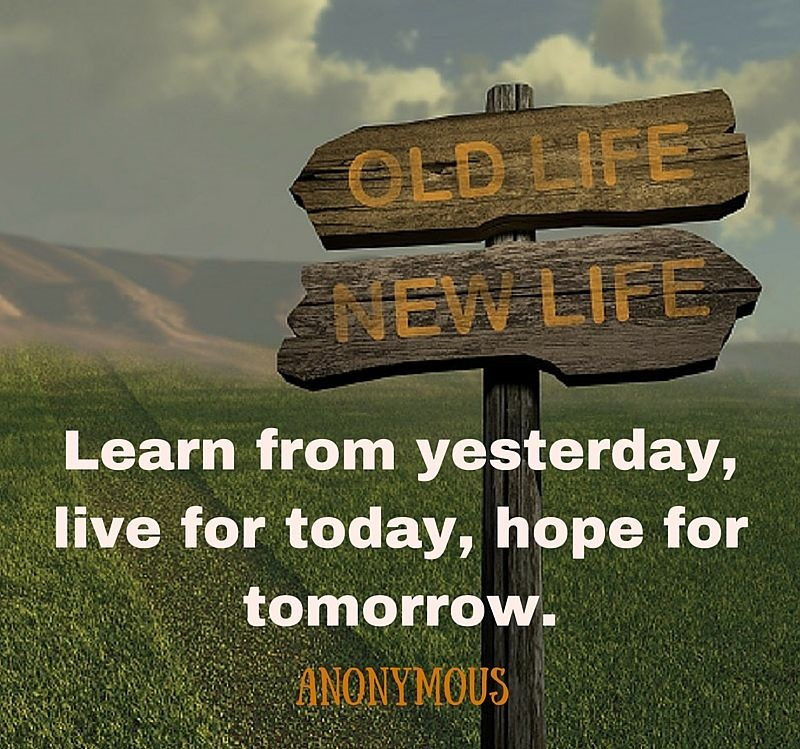 learn-from-yesterday-anonymous-quote